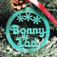 Bonny Lad North East Handmade Christmas Decoration