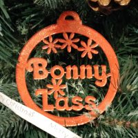 Bonny Lass North East Handmade Christmas Decoration