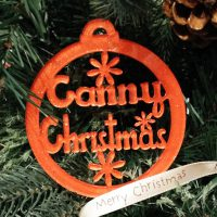 Canny Christmas North East Handmade Christmas Decoration