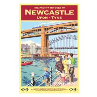 Newcastle Mighty Bridges Magnet