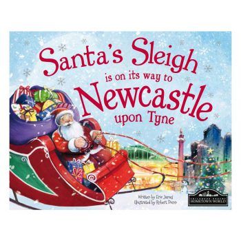 Santa's Sleigh Is On Its Way To Newcastle Book