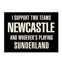 Newcastle Supporters Magnet