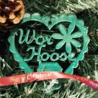 Wor Hoose North East Handmade Christmas Decoration