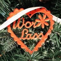 Wor Lass North East Handmade Christmas Decoration