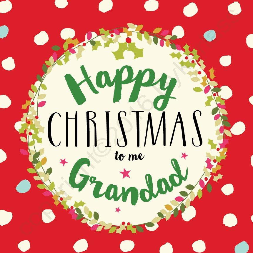 merry christmas grandad card - Merry Christmas To Me