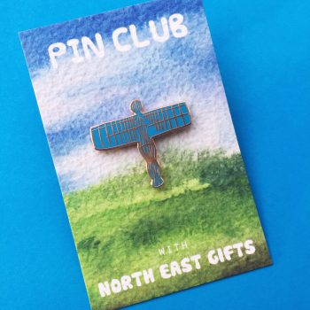 Angel Of The North Pin Badge Pin Club