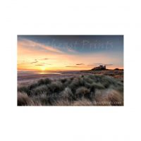 Bamburgh Castle Photo Print