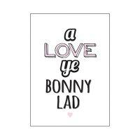 Blunt Cards A Love Ye Bonny Lad