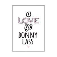 Blunt Cards A Love Ye Bonny Lass