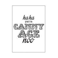 Canny Age Geordie card