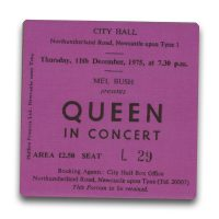 Newcastle City Hall Ticket Magnet - Queen