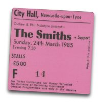 Newcastle City Hall Ticket Magnet - The Smiths