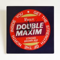Sunderland Double Maxim Metal Wall Clock
