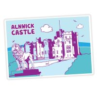 Alnwick Icons Fridge Magnet