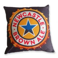 Newcastle Brown Ale Cushion