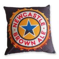 Newcastle Brown Ale Cushion