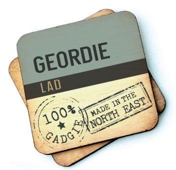 Geordie Lad Wooden Coaster