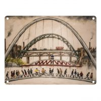 Lowry Tyne Bridges Sign