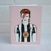 Geordie David Bowie Bug Designs
