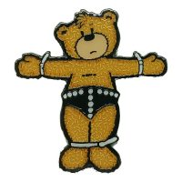 Bad Taste Bears Pin Badge