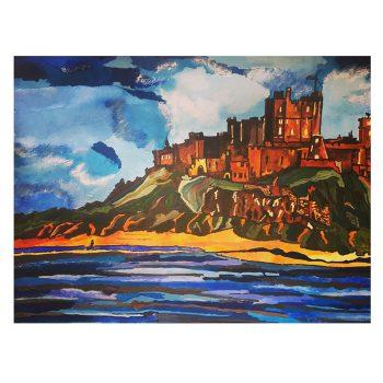 Sarah Milburn Bamburgh Castle
