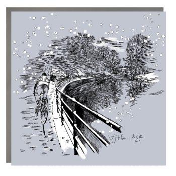 Morpeth Riverside Christmas Card