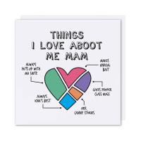 Mam Card Things I Love Aboot Mam