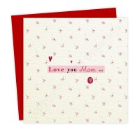 Love You Mam Card