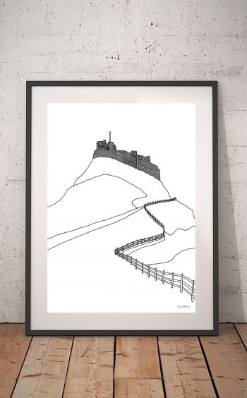 Lindisfarne Castle Print