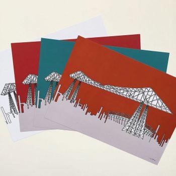 Middlesbrough Teeside Transporter Bridge Print