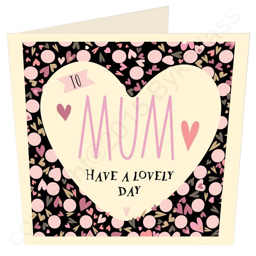 Mum Card - North West Liverpool Manchester Cumbria