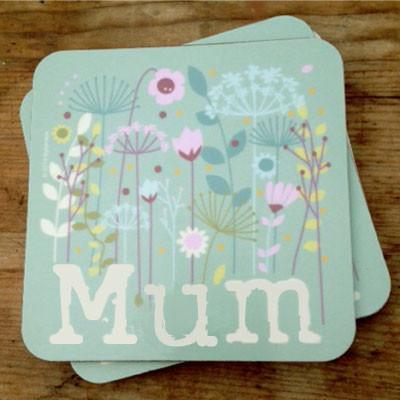 Mum Coaster North West Gifts