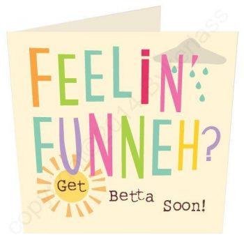 Get Well Soon - Manchester Card