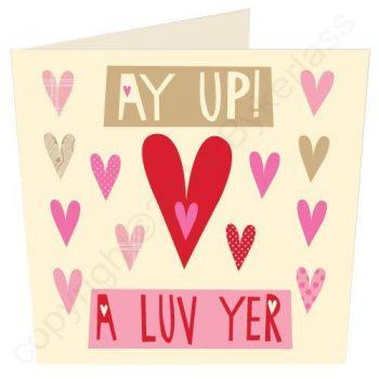 Manchester Valentines Card