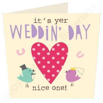 Manchester Wedding Card