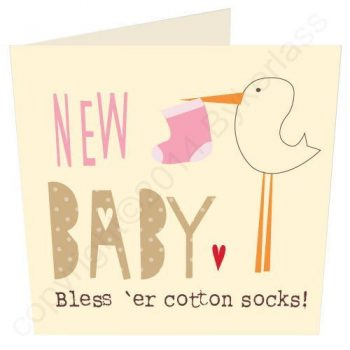 Manchester New Baby Card