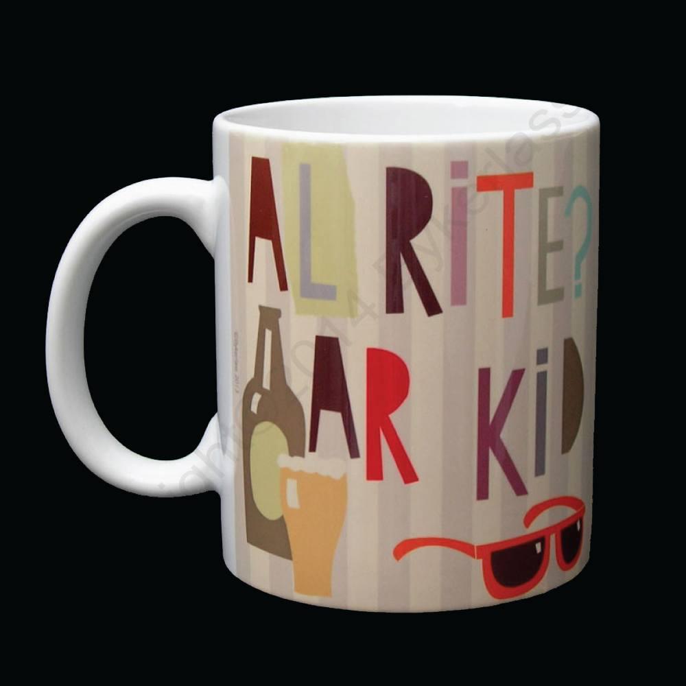 Alrite Ar Kid Liverpool Scouse Mug