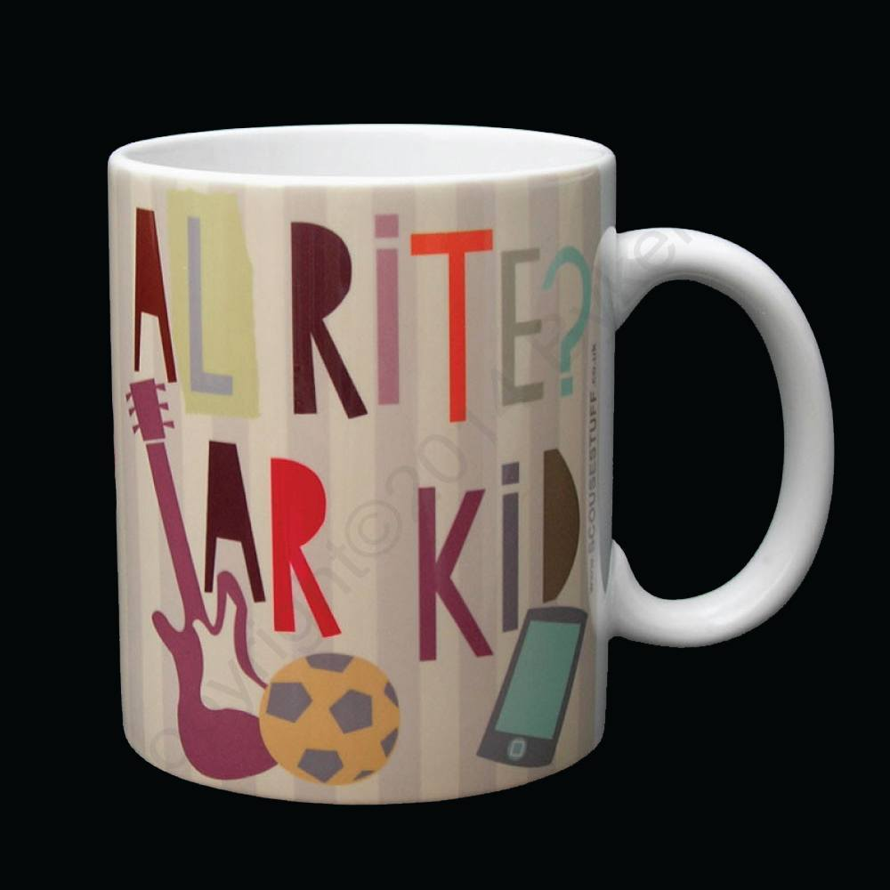 Alrite Ar Kid Liverpool Scouse Mug