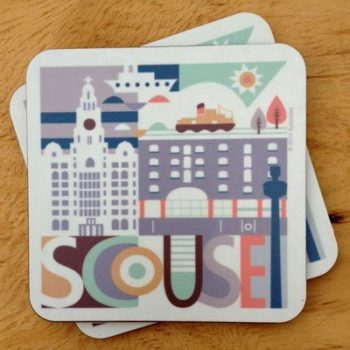 Scouse Liverpool City Coaster