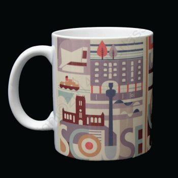 Scouse Liverpool City Mug