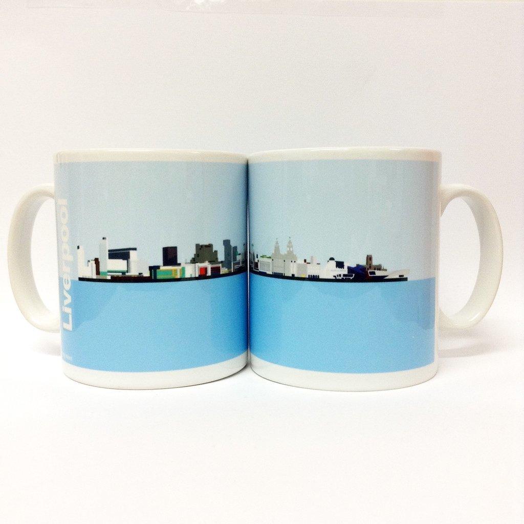 Liverpool Skyline Mug
