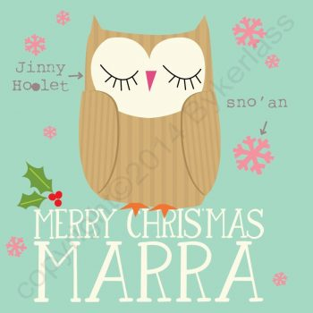 Cumbrian Christmas Card Marra