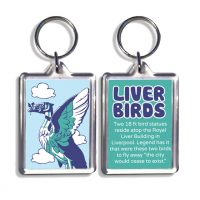 Liver Birds Keyring Liverpool Icons